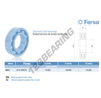 6215-2RS-C3-ASFERSA