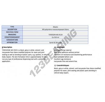 MS-9120-WHITE-400ML-TEROSON