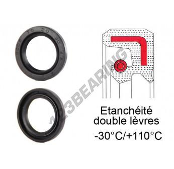 OAS-33X45X6.50-NBR - 33x45x6.5 mm